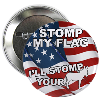 List of Products for the 'Stomp My Flag' Designs