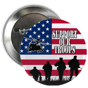 2.25 inch pinback button made right here at dbaPatriots.com